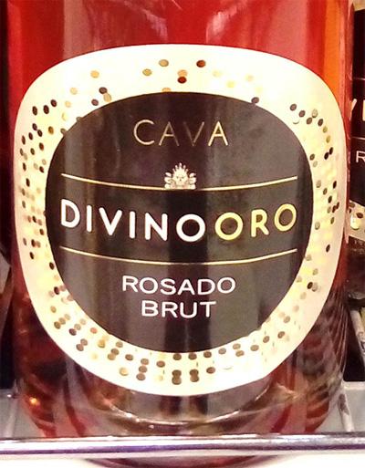 Отзыв об игристом вине Divino Oro rosado brut 2016