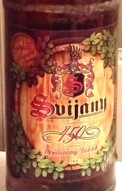 Отзыв о пиве Svijany premiovy lezak 450