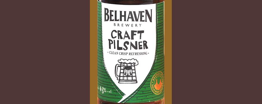 Отзыв о пиве Belhaven craft pilsner