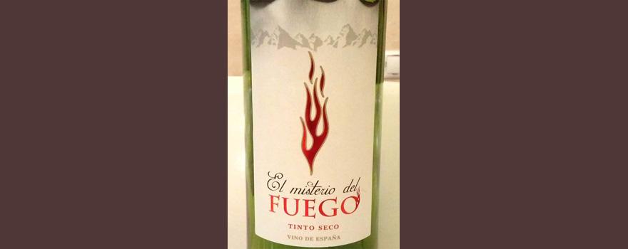 Отзыв о вине El Misterio del Fuego tinto seco 2016