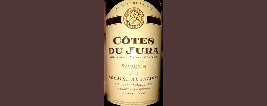 Отзыв о вине Cotes du Jura 2011