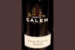 Отзыв о портвейне (ликерное вино) Calem Tawny porto 2016