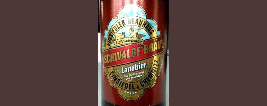 Отзыв о пиве: Schwalbe-brau landbier