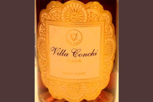 Отзыв об игристом вине Villa Conchi rose brut 2015