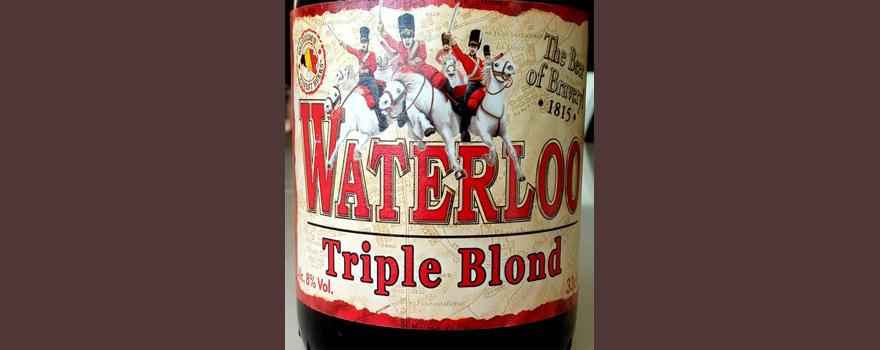 Отзыв о пиве: Waterloo triple blond