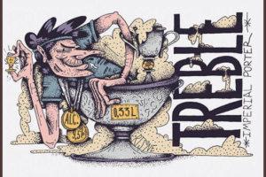 Отзыв о пиве Treble imperial porter крафт