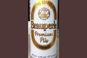 Отзыв о пиве Brauperle premium pils