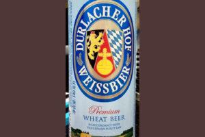 Отзыв о пиве Durlacher hof weissbier