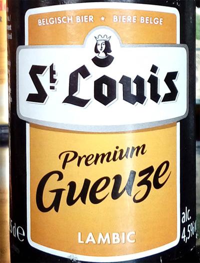Отзыв о пиве St Louis premium gueuze lambic