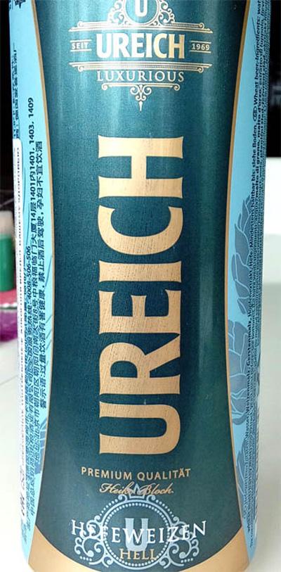 Отзыв о пиве Ureich hefeweizen hell