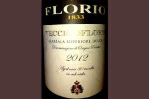 Отзыв о ликерном вине Vecchioflorio Marsala superiore dolce 2012