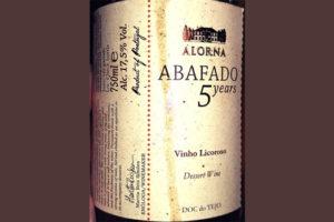 Отзыв о вине Abafado Alorna Vinho Licoroso 5 years 2009