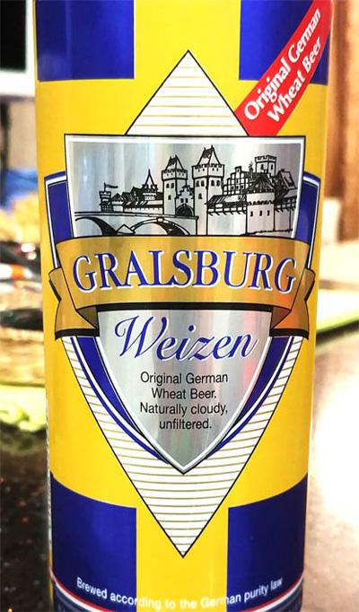 Отзыв о пиве Gralsburg Weizen