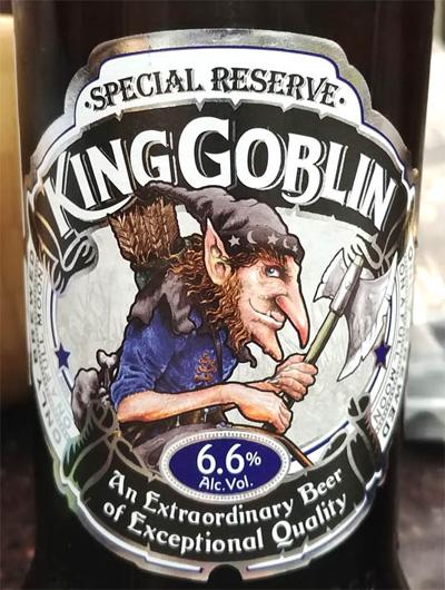 Отзыв о пиве King Goblin special reserve