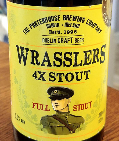 Отзыв о пиве Wrasslers 4X Stout