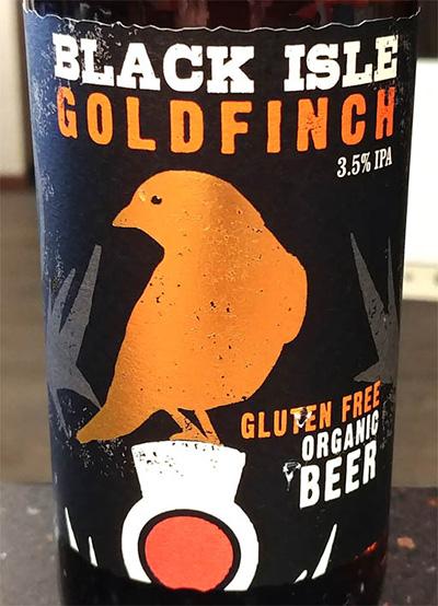 Отзыв о пиве Black Isle Goldfinch