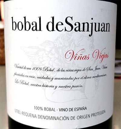 Отзыв о вине Bobal de Sanjuan vinas viejas 2015