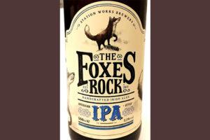 Отзыв о пиве Foxes Rock IPA