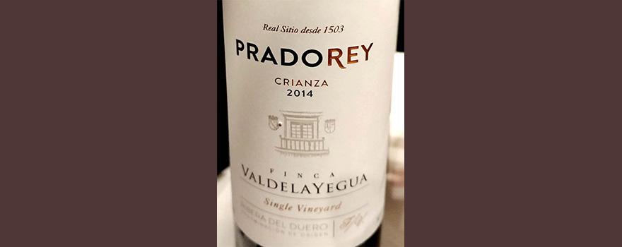 Отзыв о вине Pradorey crianza Finca Valdelayegua 2014