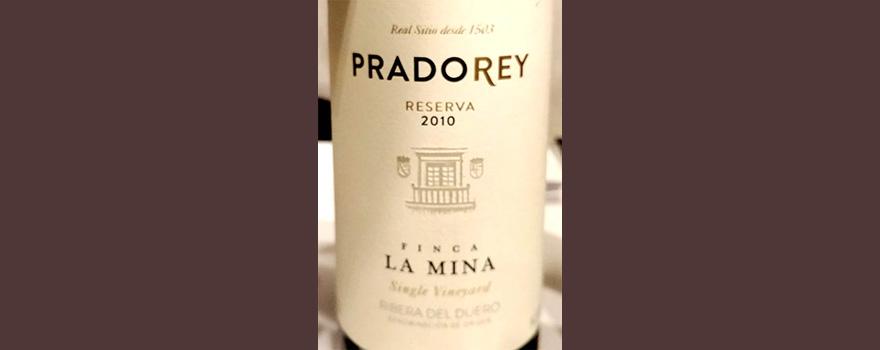 Отзыв о вине Pradorey reserva Finca La Mina 2010