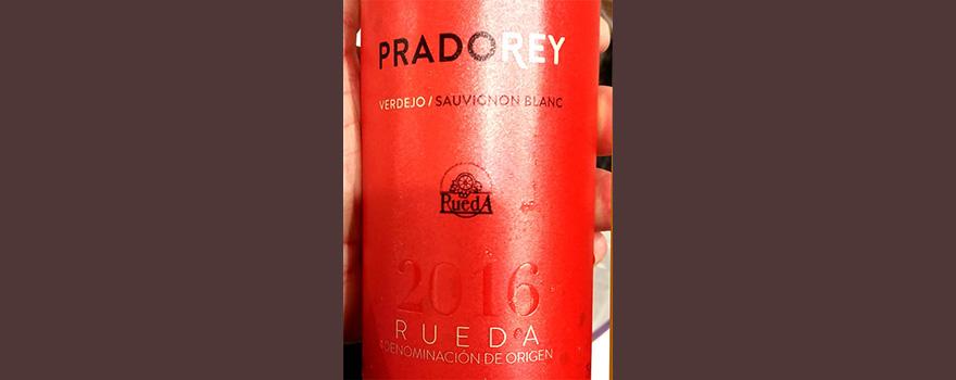 Отзыв о вине Pradorey verdejo sauvignon blanc 2016