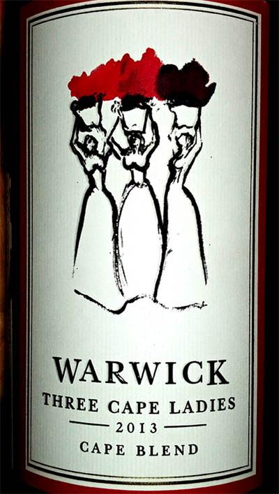 Отзыв о вине Warwick Three Cape Ladies 2013