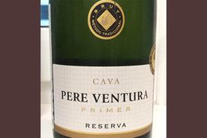 Отзыв об игристом вине Pere Ventura primer reserva cava 2015