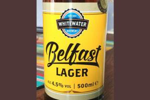 Отзыв о пиве Belfast Lager by Whitewater
