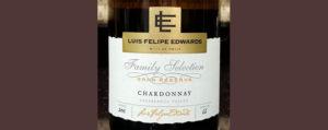 Отзыв о вине Luis Felipe Edwards Chardonnay family selection Gran Reserva 2016