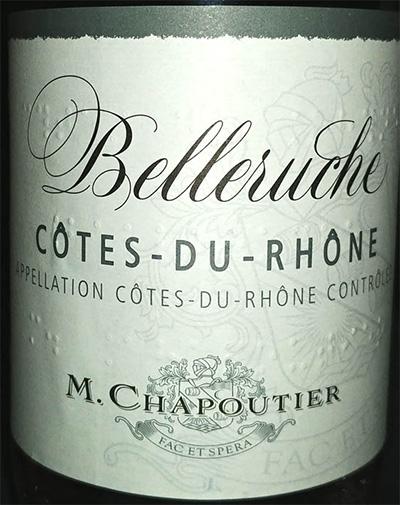 Отзыв о вине Belleruche Cotes-du-Rhone rose M.Chapoutier 2016