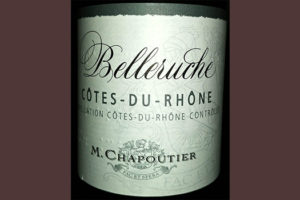 Отзыв о вине Belleruche Cotes-du-Rhone rouge M.Chapoutier 2016