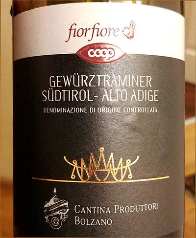 Отзыв о вине Fior Fiore Gewurztraminer 2016