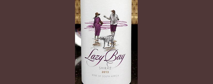 Отзыв о вине Lazy Bay shiraz 2013