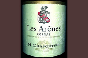 Отзыв о вине Les Arenes Cornas rouge M.Chapoutier 2015