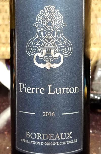 Отзыв о вине Pierre Lurton blanc bordeaux 2016