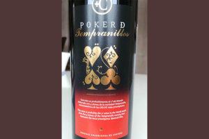 Отзыв о вине Poker De Tempranillos 2011