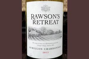 Отзыв о вине Rawson's Retreat semillon chardonnay 2013