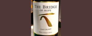 Отзыв о вине The Bridge of Hope sauvignon blanc 2016