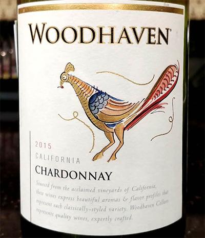 Отзыв о вине Woodhaven chardonnay 2015