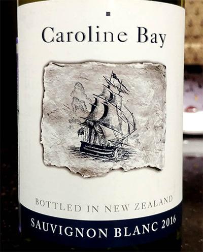 Отзыв о вине Caroline Bay sauvignon blanc 2016