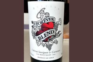 Отзыв о вине Forever Blend cabernet sauvignon & carmenere reserva 2015