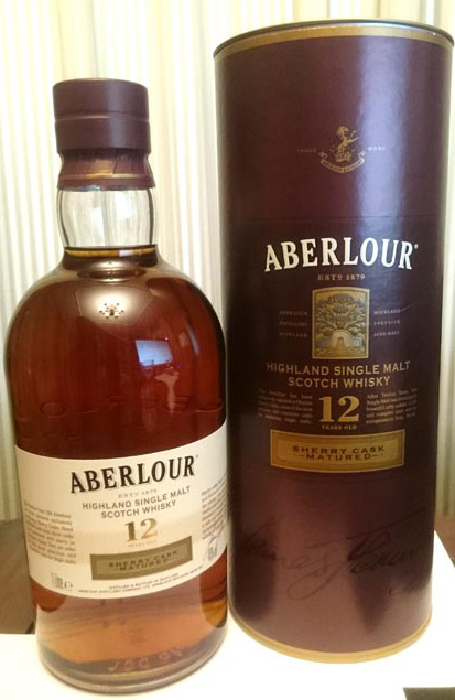 Aberlour-12_Sherry_Cask_label