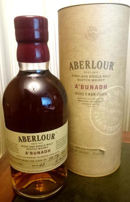 Aberlour_A_Bunadh_label