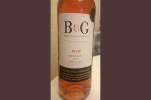 Отзыв о вине BartonGuestier Rose