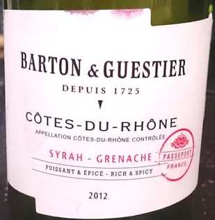 Barton_and_Gustier_Syrah_label