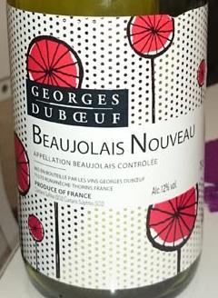 Beaujolais_Villages_2014_Georges_Dubouf_label
