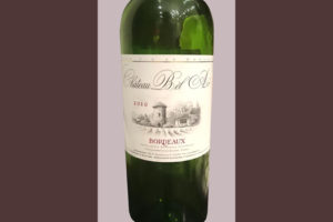 Отзыв о вине Chateau Bel Air