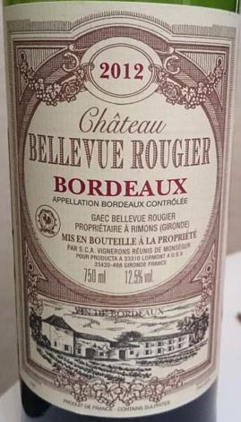 Chateau_Bellevue_Rougier_label