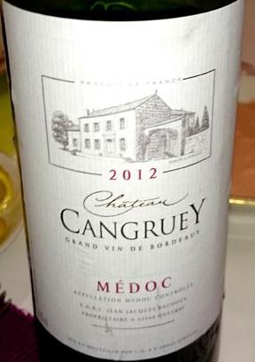 Chateau_Cangruey_label