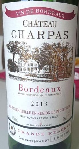 Chateau_Charpas_label